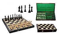 Шахматы деревянные Club, Клуб, черные, Арт. 3150