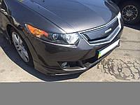 Решетка радиатора Honda Accord CL8 2008-2010 MUGEN STYLE, ABS пластик под покраску