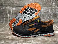 Мужские кожаные кроссовки Reebok код 311 рк