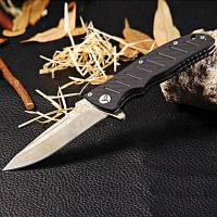 Enlan EL01D вкладыш замок складной нож с Дамасским клинком Чёрный