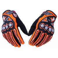 Pro-байкер полный палец защитные перчатки L