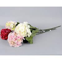 """Композиция цветочная для декора """"Гортензия"""" SU8074, размер 67х17 см, декоративный цветок, искусственное растение, букет искусственных цветов"""