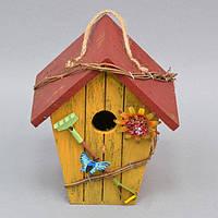 """Декор """"Скворечник"""" FF1062, материал - дерево, размер - 20*16*12 см, декор для дома, декорирование дома, аксессуары для дома"""