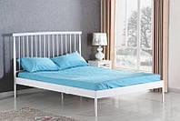 Кровать BRENDA 160x200 белый Halmar