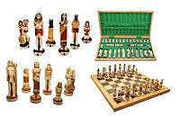 Шахматы с напылением EGIPT Египет, Интарсия,  Арт. 3157