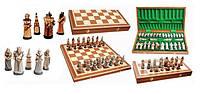Шахматы с напылением FANTAZY Фэнтэзи, интарсия, Арт. 3159