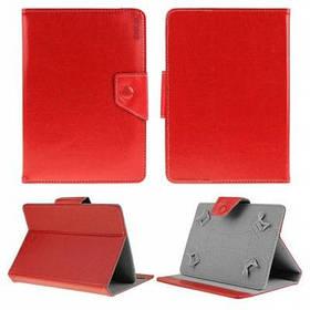 В enkay ЕНК-7040 PU кожаный чехол стенд для 9-дюймовый планшетный ПК защитный чехол - Красный