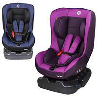 Детское автокресло 2 цвета (синий, фиолетовый) группа 0+/1 (0-18кг)  EL CAMINO ME 1010-3 INFANT
