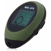 Портативный GPS-трекер с 16 компасами POI Зеленый армейский