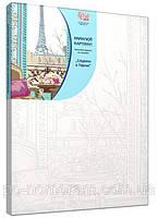 Картина по номерам без коробки Завтрак в Париже 35 х 45 см