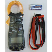 Токовые клещи DT 3266E, Токоизмерительные клещи, Мультиметр цифровой, Прозвонка цепи, Тестер