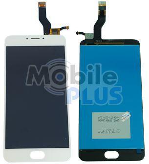Дисплей (LCD) для Meizu M3 Note (L681H) с сенсорным экраном White