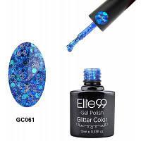 Elite99 Гель-лак для ногтей Кошачий глаз Сапфирово-синий