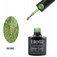 Elite99 Гель-лак для ногтей Кошачий глаз Зелёный цвет травы