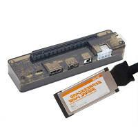 EXP GDC Beast Док-станция для внешней независимрй видеокарты ноутбука+Expresscard кабель совместимость с Apple / DELL / HP / Lenovo / Asus / Hasee Нет