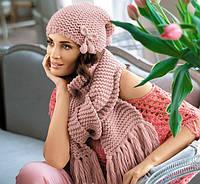 двойка (шапка+шарф) 350грн