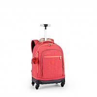 Чемодан-рюкзак на 4 колесах ECHO/Punch Pink C  (29л) (35x49,5x21см)