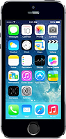 Китайский смартфон iPhone 5S, Android 4.2.2, 1 SIM, GPS, камера 8 Mп, память 8 Гб, 2-х ядерный.