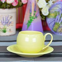 """Чашка порцелянова для напоїв """"Style"""" FR230, розмір 6х7 см, в наборі 12 предметів, 6 видів, в коробці, чашка для чаю, посуд для чаю"""