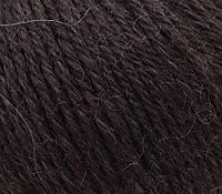 Элитная пряжа Gazzal Baby Alpaca 46004 (Газзал бейби Альпака) шоколад
