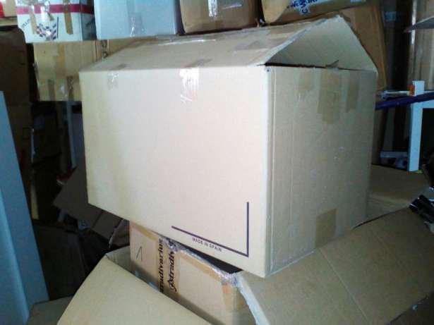 Большие картонные коробки б/у, 600*400*350 Гофрокартон ящик 5ти слойный