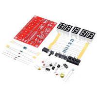 DIY 1 Гц-50 МГц Кристальный осциллятор 5 Светодиодный дисплейный измеритель частоты Как на изображении