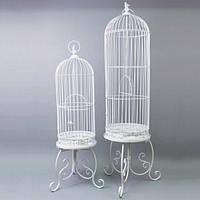 Клітка HY9013, кількість - 2 шт, вироби з ротанга і металу, декор для дому, декор для саду