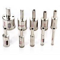 WLXY WL-1030 Профессиональные принадлежности для сверления с алмазным покрытием Bits Отверстие для резки стеклянных ножниц Серебристый