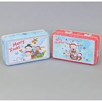 Новогодняя коробка для подарков CF576, 5*19*11 см, жесть, Металлические подарочные коробки, Коробка для подарка, Коробки новогодние