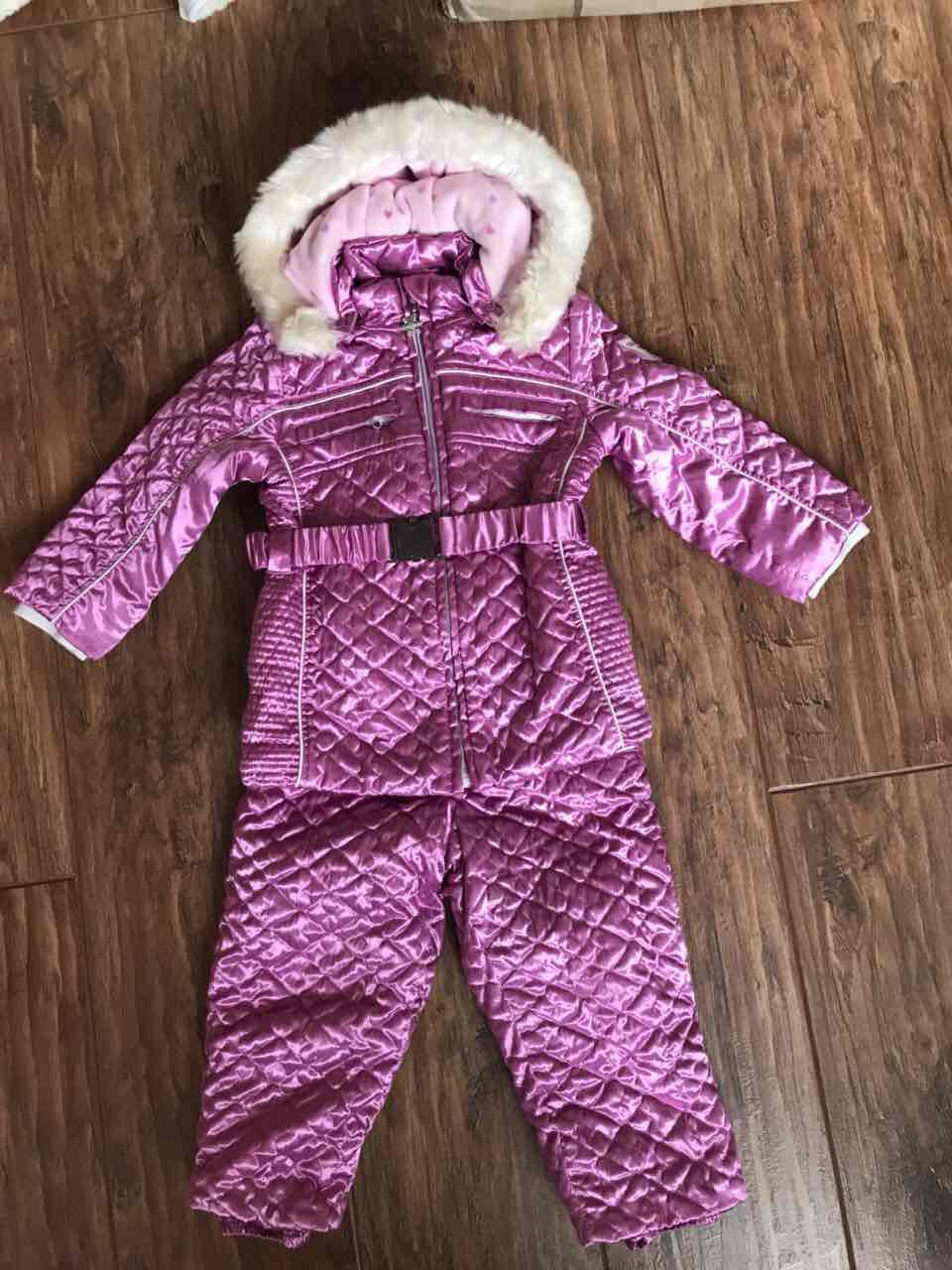 Фирменный зимний термо костюм Ice Cold chicco б/у