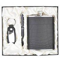 """Набір подарунковий для чоловіка """"Elegant"""" GH95, в комплекті 3 предмета, розмір 14х9.5 см, подарунок на свято, набір подарунків"""