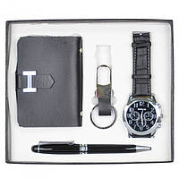 """Набір подарунковий для чоловіка """"Man"""" GH89, в комплекті 4 предмета, розмір 17х20 см, подарунок на свято, набір подарунків"""