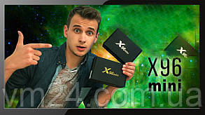 ТВ-приставка X96 mini (2/16 ГБ) Android 7.1 медіаплеєр Android TV box