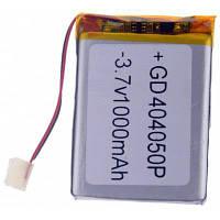 404050P Замена 3.7V 1000mAh Li-полимерная батарея для мобильных телефонов MP3 MP4 Player Серебристый