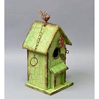"""Декор """"Скворечник"""" RV418, материал - дерево, размер - 30*16*13 см, декор для дома, декорирование дома, аксессуары для дома"""