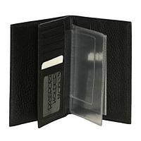 MODUS/Black  Обложка для паспорта и автодокументов (10x14x1,5)