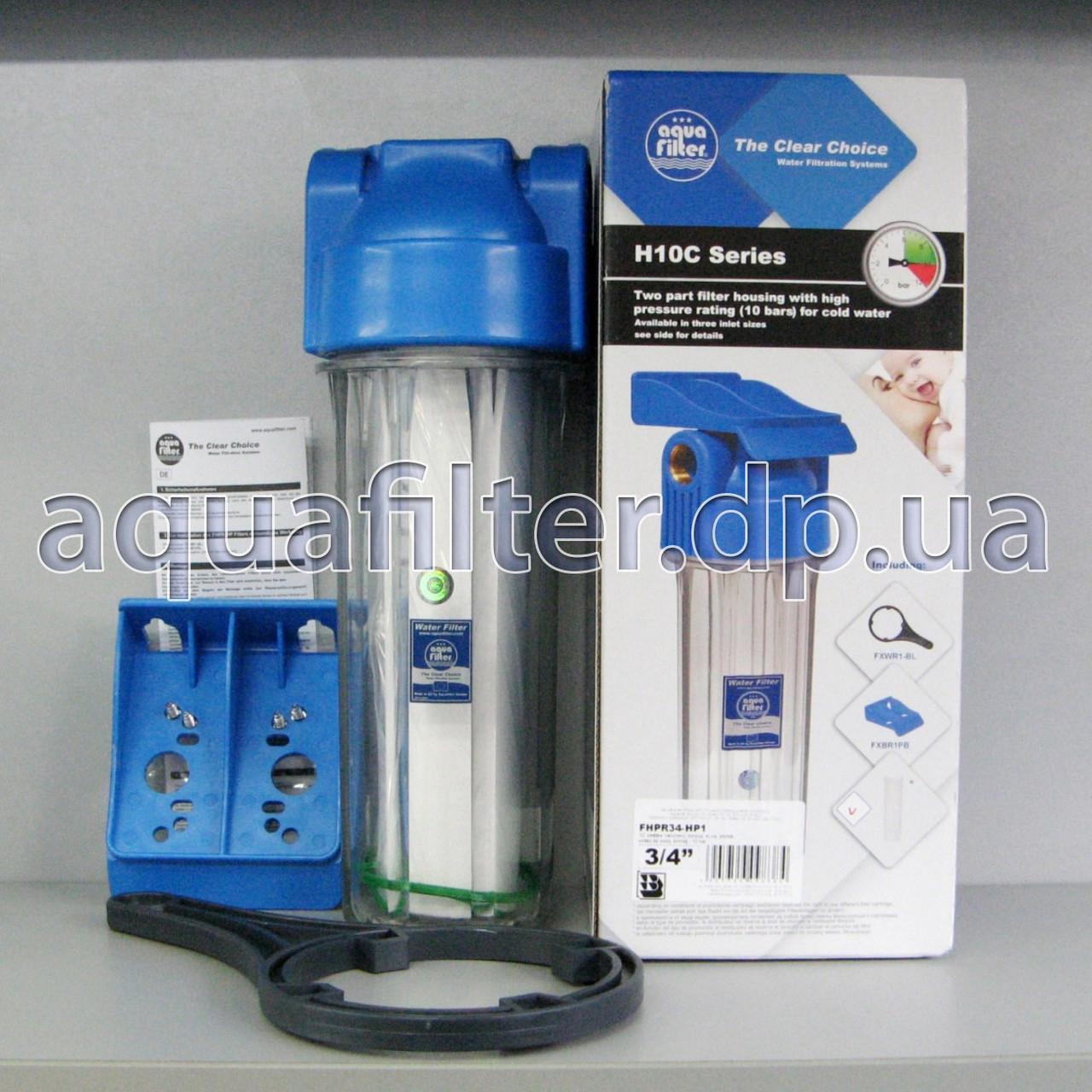 Фильтр грубой очистки воды Aquafilter FHPR34-HP1 3/4, фото 1