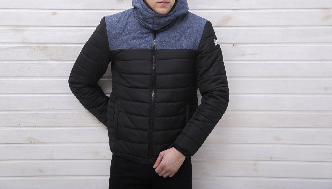 "Мужская демисезонная куртка Pobedov Jacket ""Rise"" (S, M, L размеры)"