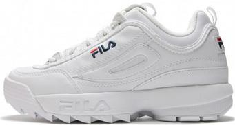 Мужские кроссовки Fila White (люкс копия)