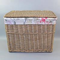 Бельевая корзина E0006-2-3, размер - 51*69*48 см, материал - лоза, корзина для белья, бельевые корзины, плетеная корзина