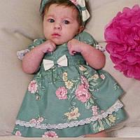 Детское платье ручной работы