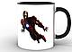 Кружка GeekLand Железный Человек Iron Man минимализм IM.02.006, фото 4