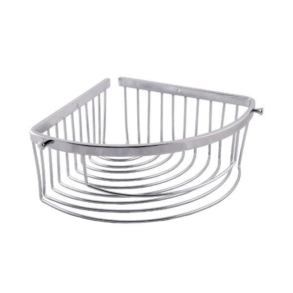 Полка металлическая глубокая угловая Aviso, 18 см