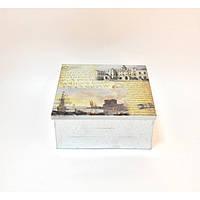 """Шкатулка металлическая для хранения мелочей """"Wonderland"""" FF50-1, шкатулка под бижутерию, шкатулка из металла"""