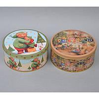 Металлическая коробка для подарков CF275, 8*17 см, Металлические коробки для подарка, Коробка для подарка, Новогодняя коробка