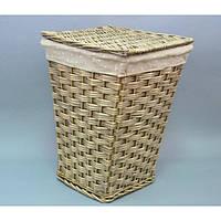 Бельевая корзина 9-2642, размер - 52*37*38 см, материал - лоза, корзина для белья, бельевые корзины, плетеная корзина