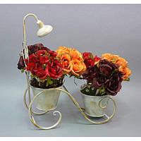 """Подставка под цветы """"Краник"""" B412, декор для сада, декорирование сада, аксессуары для сада"""
