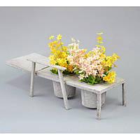 Подставка под цветы JK015, декор для сада, декорирование сада, аксессуары для сада