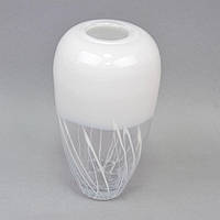 "Ваза декоративная для цветов ""Abstraction"" V17, стекло, 29х16 см, ваза для декора, ваза под цветы, цветочная ваза"