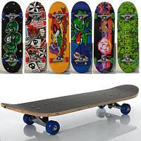 Скейтборд 6 видов Profi MS 0354-2